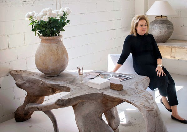 image result for office of interior designer Pam Pierce editor Milieu magazine