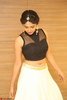 Roshni Prakash in a Sleeveless Crop Top and Long Cream Ethnic Skirt 092.JPG