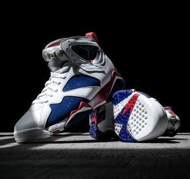 ecba1c4a0348 ... Tinker Alternate Team USA Retro Sneaker available at 10am EST HERE at  FNL   HERE at Footlocker