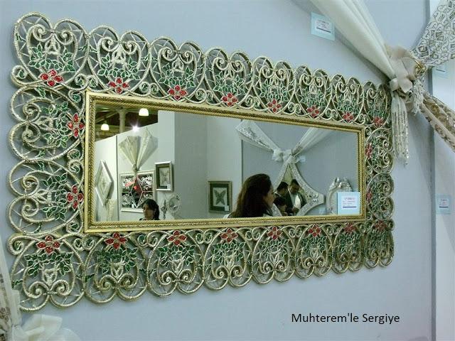 aluminum foil relief mirror