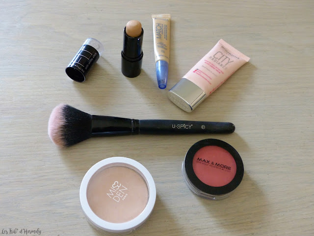 Maquillage printemps nacre pêche orange gris perle bourjois gemey maybelline yves rocher max and more miss den rimme