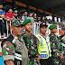 TNI Polri Cilacap Kompak Amankan Pertandingan Sepakbola Babak 32 Besar Piala Indonesia Tahun 2019