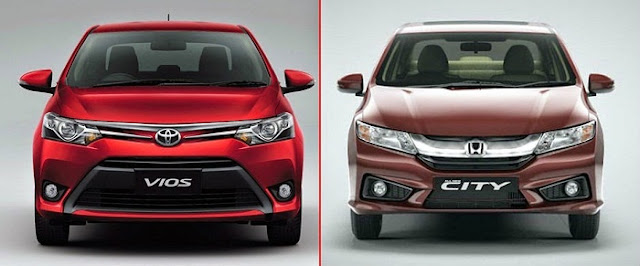 So sánh Honda City và Toyota Vios 2016 tại Việt Nam: Kỳ phùng địch thủ