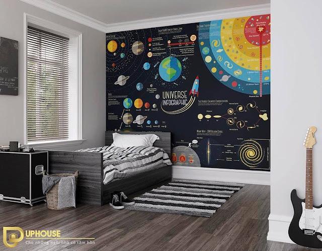 Phòng ngủ màu đen 08