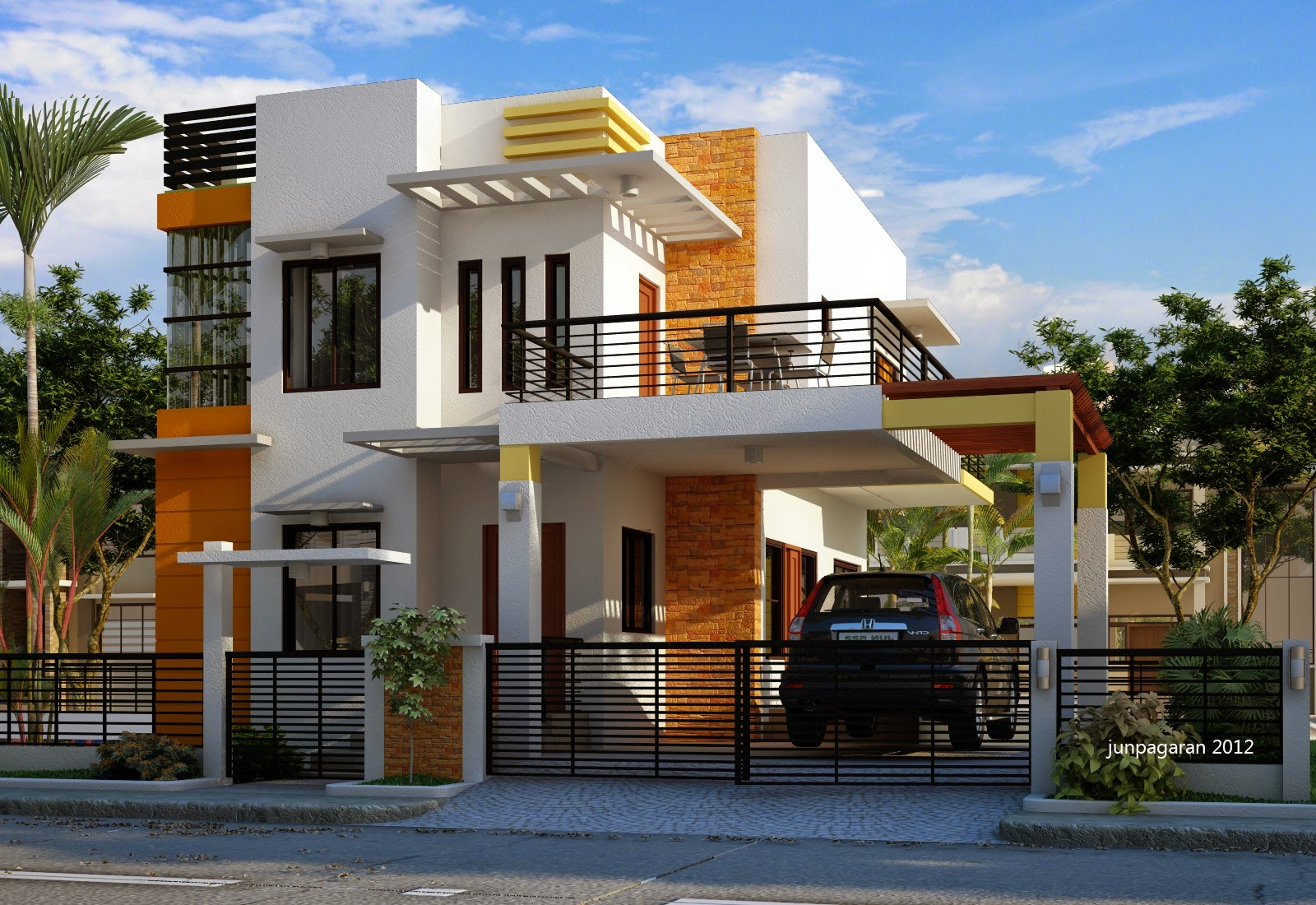 Desain Rumah Minimalis Dua Lantai RAJA DISAIN INTERIOR