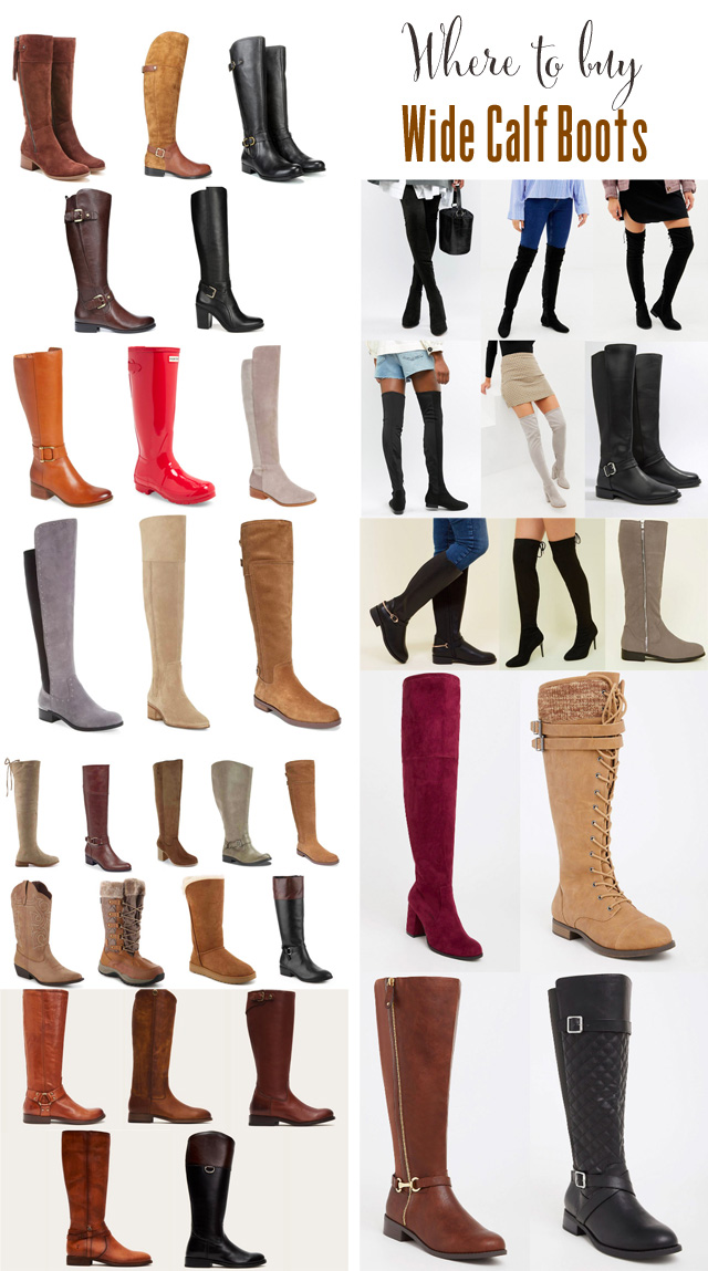 d3d5670bc66 Where to buy wide calf boots this autumn....