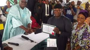 Ekiti Governnor-elect, Deputy Get Certificates Of Return From INEC