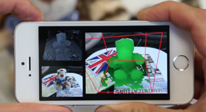 MobileFusion turn an iPhone into a 3D scanner with an application of Microsoft (Video)