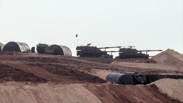 """Turquía bombardea """"con intensidad"""" a aliados de EEUU en Siria"""