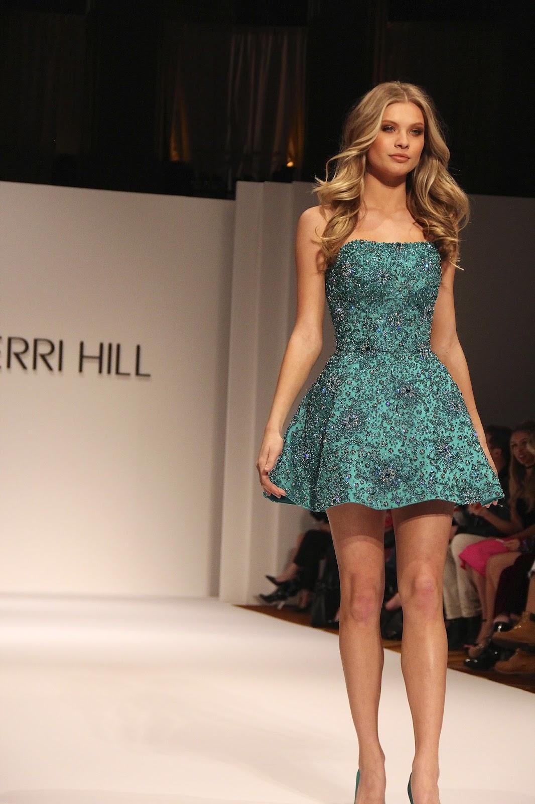c68d39e6eee fashionably petite  Sherri Hill Fall Winter 2017 at New York Fashion ...