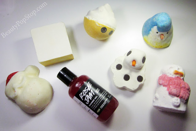 LUSH Christmas 2013 Review