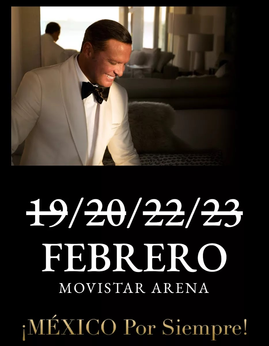 Luis Miguel Tour Chile 2019