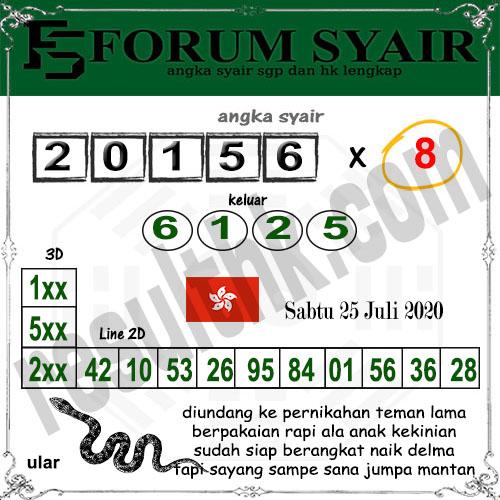 Forum syair hk Sabtu 25 juli 2020 - Forum Syair HK