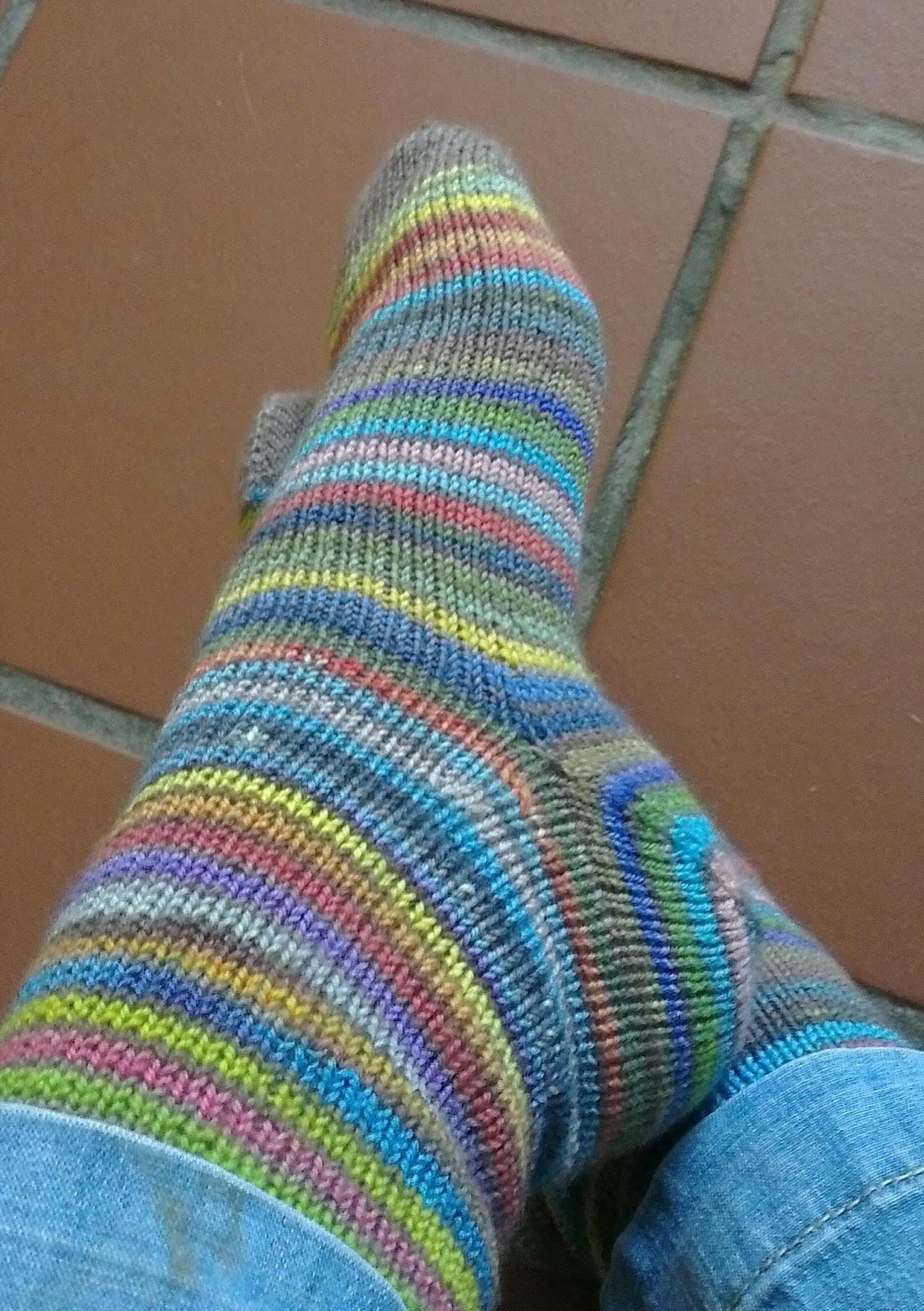 Nurturing Fibres: Free pattern - Vanilla Sock Pattern