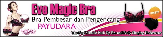 Banner Eve Magic Bra Original - Pakaian Dalam (Bra Pembesar dan Pengencang Payudara) Ampuh dan Cepat Tanpa Efek Samping
