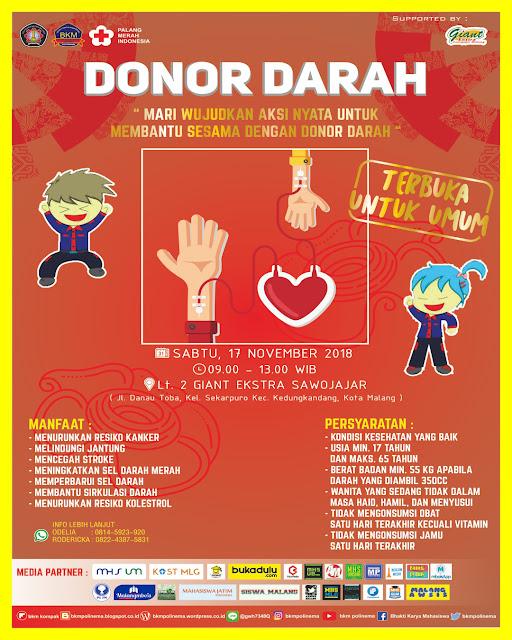 Donor Darah 3 - Mari Wujudkan Aksi Nyata Untuk Membantu Sesama Melalui Donor Darah