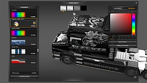 Scania T Vabis Hard paintjob