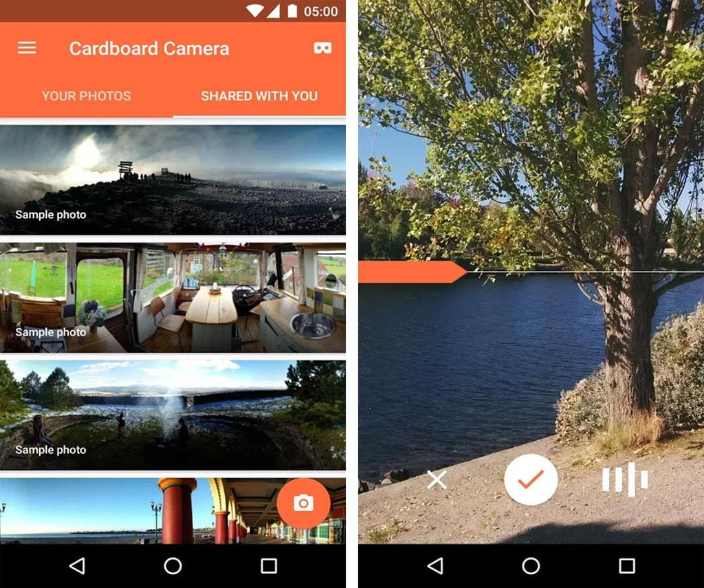Google Cardboard Camera iOS