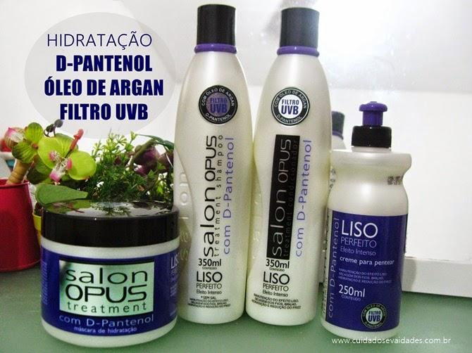 Salon Opus D-Pantenol Liso Perfeito
