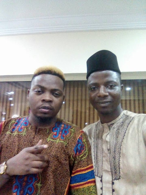 Popular Internet Marketer Was Spotted With Olamide Today