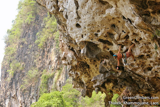 GreenClimbers.com in Thakek, Khammoune, Laos