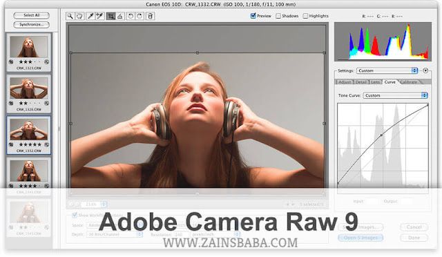 Adobe Camera Raw 9.12.1 latest Free Download