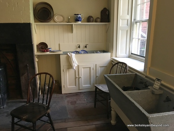 kitchen at Merchant's House Museum in NYC