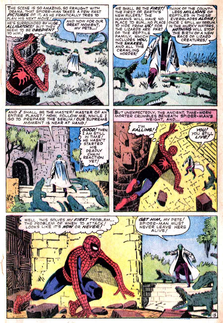 Amazing Spider-man #6 - Steve Ditko art & cover - Pencil Ink