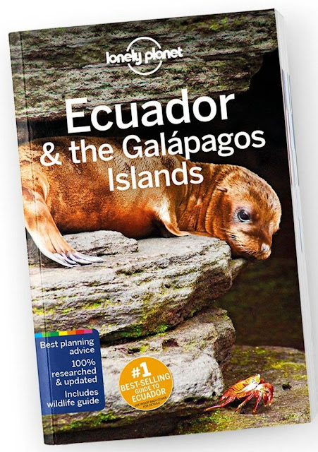 Cover of the 11th Edition of Lonely Planet Ecuador & the Galapagos Islands