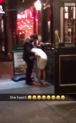 A Couple Was Caught In The Act Of Doing The Deed In Public, In The Front Of Entertained Onlookers!