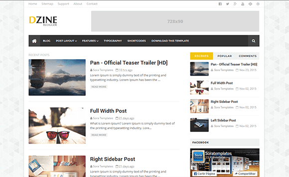 How To Setup Dzine Blogger Template