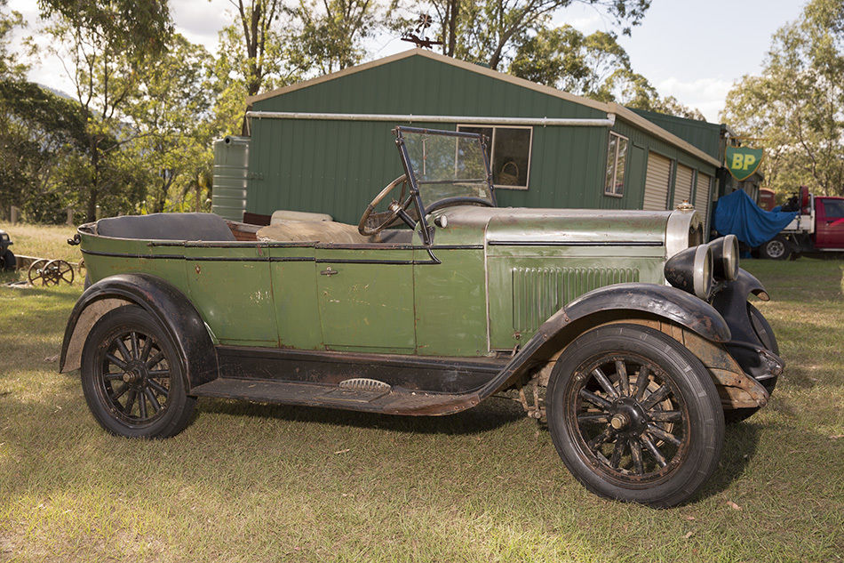 My 1928 Chevrolet: Vintage car 1928 Aussie Chev Tourer, Unrestored ...
