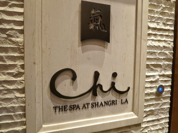 CHI, The Spa at Shangri-La sign
