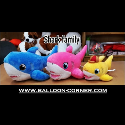 Boneka SHARK FAMILY
