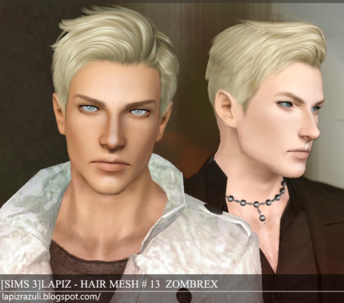 Sims 2 Hairstyles: My Sims 3 Blog: Lapiz Lazuli Zombrex And Cupcake Hairs For