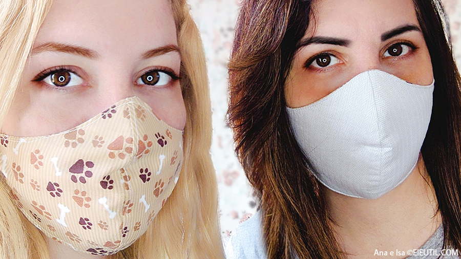 Ana & Isa - Como Fazer Máscara de Tecido Anatômica