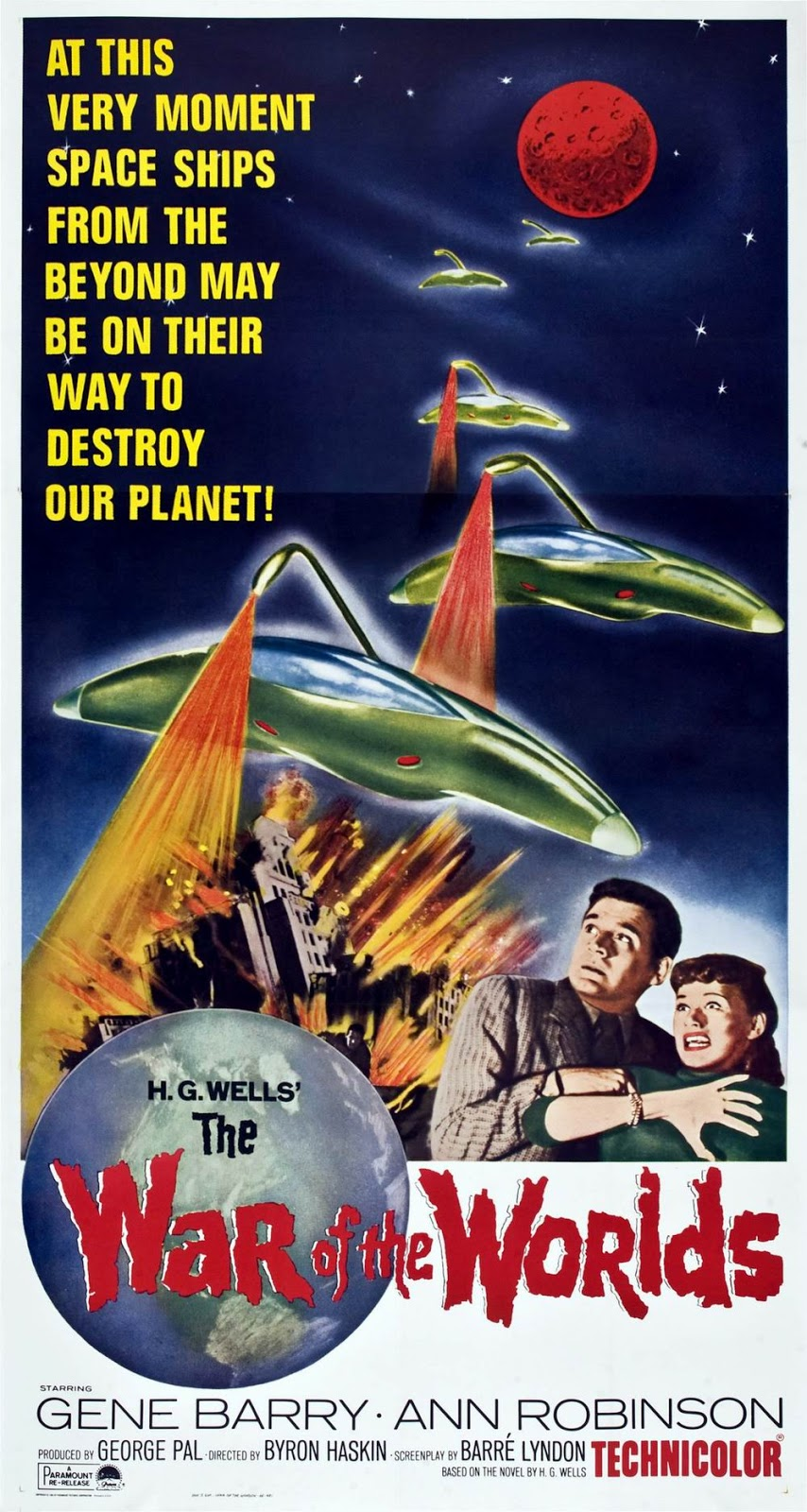 Image result for war of the worlds 1953