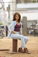 Shraddha Das in a Lovely Brown Top and Denim jeans ~ Exclusive Unseen Beauty HD Pics 019.JPG