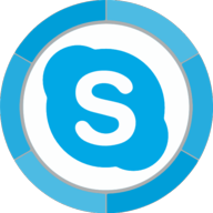 skype button icon