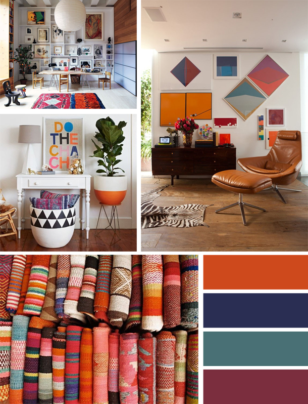 By The Photo Of Woven Fabric Layers From Inspire Bohemia I Love How Vibrant Colors Are On Textile They Look Even Better When Used In A Room