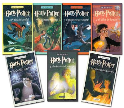 Libros favoritos: Harry Potter (Entre Sombras de Colores)