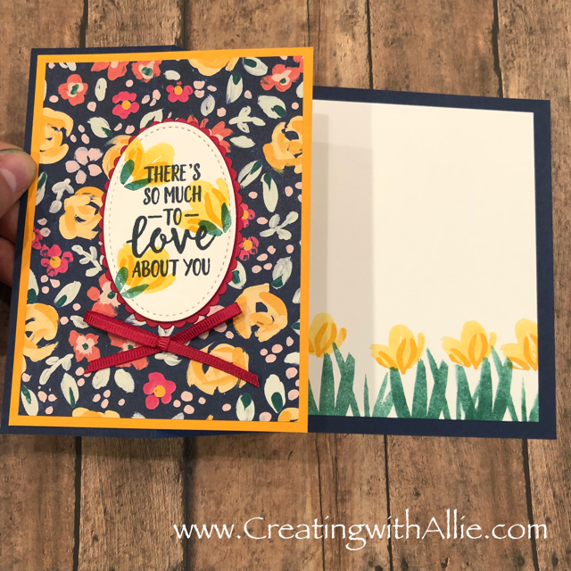 Check out the video tutorial with some AMAZING tips and tricks for making cards using Stampin' Up! designer series paper!  You will love how quick and easy these are to make!, plus during July 2018 there is a great promotion for designer series paper!! you get 1 pack FREE when you purchase 3 packs of designer series paper, this is a great time to stock up on designer series paper!!  www.creatingwithallie.com #stampinup #alejandragomez #creatingwithallie #videotutorial #cardmaking #papercrafts #handmadegreetingcards #fun #creativity #makeacard #sendacard #stampingisfun