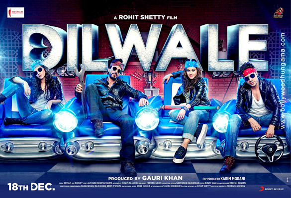 Dilwale (2015) Movie Poster No. 6