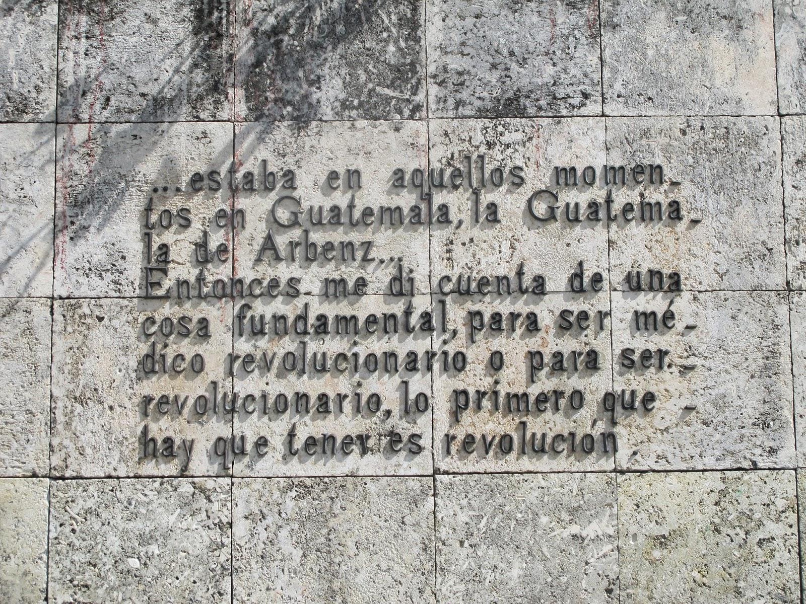 Monumento em homenagem à Che Guevara, em Santa Clara.