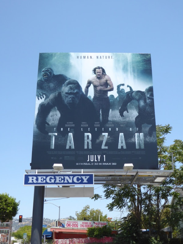 Legend of Tarzan 2016 billboard