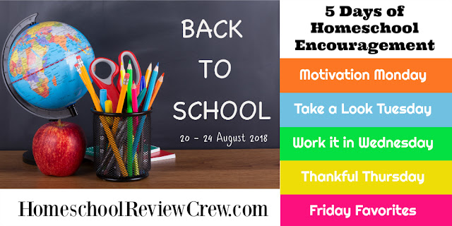 http://schoolhousereviewcrew.com/motivation-monday-5-days-of-homeschool-encouragement/