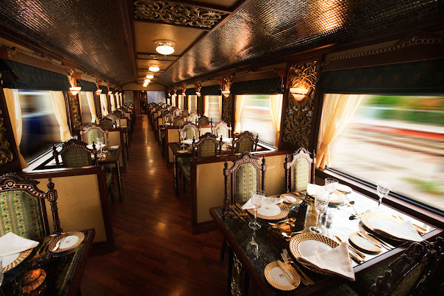 Mayur Mahal Dining Car