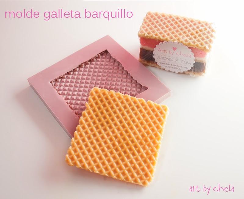 Art by chela nuevos moldes de silicona para jabones dulces - Moldes silicona amazon ...