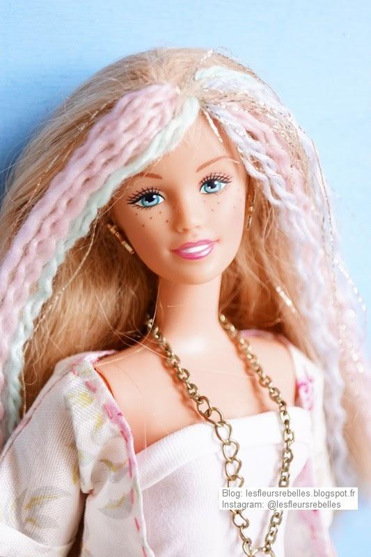 Portrait de Skipper avec mèches de cheveux pastel