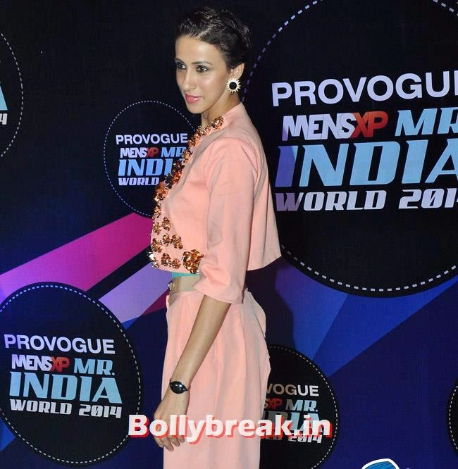 Alicia Raut, Ankita Shorey, Others at Mr India World 2014